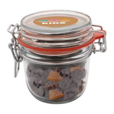 Picture of 255ML & 450GR GLASS JAR FILLED with Mixed Liquorice