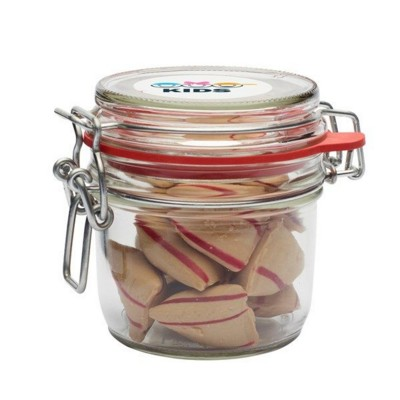 Picture of 255ML & 435GR GLASS JAR FILLED with Cinnamon Pads