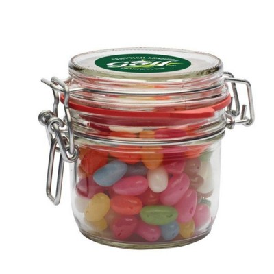 Picture of 255ML & 500GR GLASS JAR FILLED with Jelly Beans