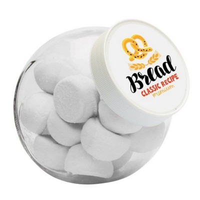 Picture of 870ML & 550GR CANDY JAR FILLED with Marshmallows