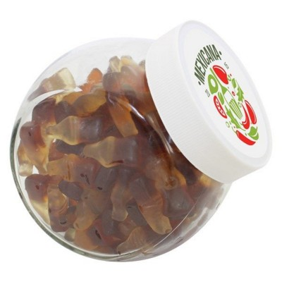 Picture of 870ML & 900GR CANDY JAR FILLED with Haribo Cola Bottles