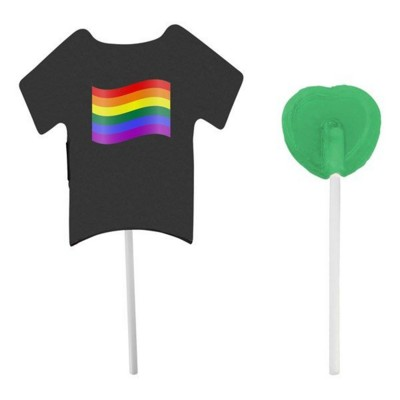 Picture of T-SHIRT CARD with Lollipop