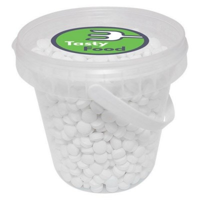 Picture of 540GR PLASTIC BUCKET FILLED with Dextrose Mints