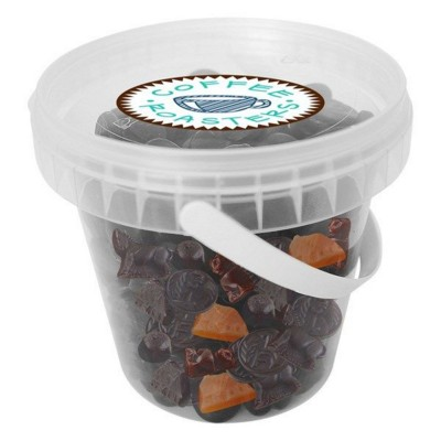 Picture of 450GR PLASTIC BUCKET FILLED with Mixed Liquorice