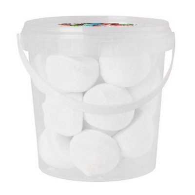 Picture of 170GR PLASTIC BUCKET FILLED with Marshmallows