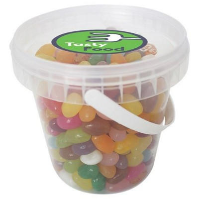 Picture of 1000GR PLASTIC BUCKET FILLED with Jelly Beans
