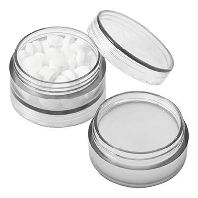 Picture of PLASTIC SCREW LID MINTS POT