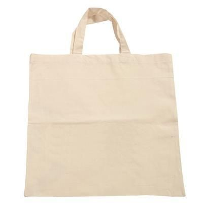 Picture of COTTON BAG in Natural with Short Handles
