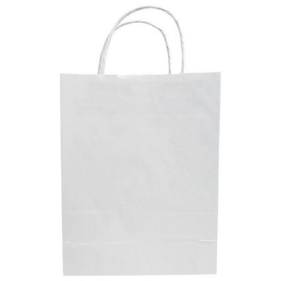 Picture of BUDGET PAPER BAG, TWISTED HANDLES - 180 x 80 x 120 MM