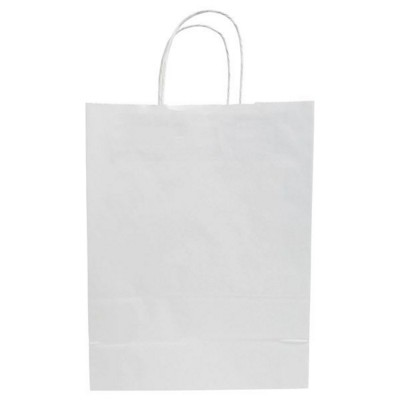 Picture of BUDGET PAPER BAG, TWISTED HANDLES - 250 x 110 x 320 MM
