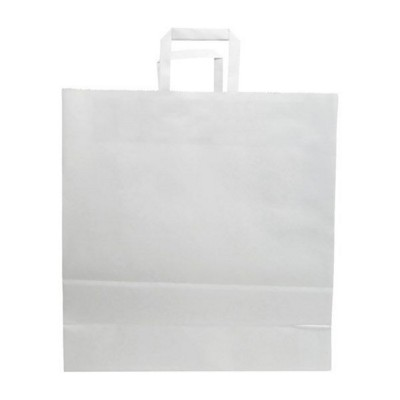 Picture of BUDGET PAPER BAG, FLAT HANDLES - 340 x 180 x 350 MM