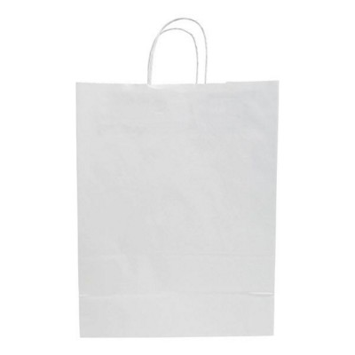 Picture of BUDGET PAPER BAG, TWISTED HANDLES - 320 x 120 x 400 MM