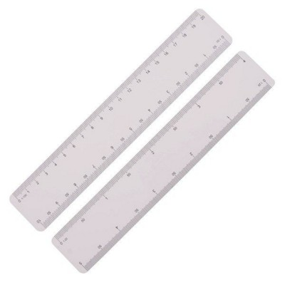 Picture of ULTRA SLIM SCALE RULER, IDEAL FOR MAILING, 200MM