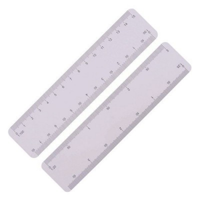 Picture of ULTRA SLIM SCALE RULER, IDEAL FOR MAILING, 150MM
