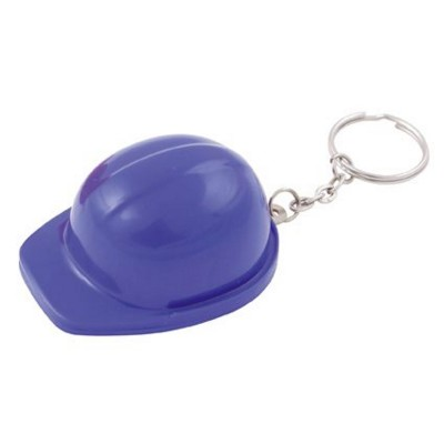 Picture of HARD HAT BOTTLE OPENER AND KEYRING CHAIN in Dark Blue