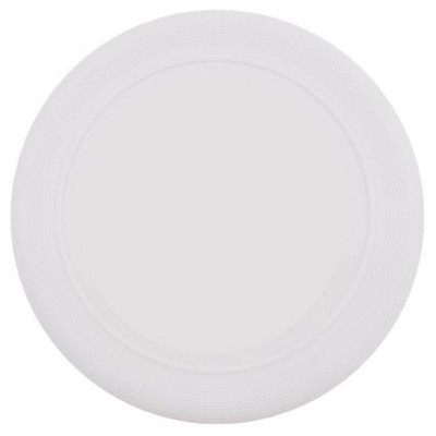 Picture of PLASTIC FRISBEE in White