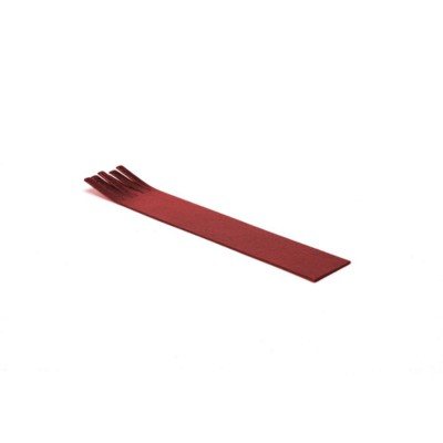 Picture of BONDED LEATHER BOOKMARK with Fringe