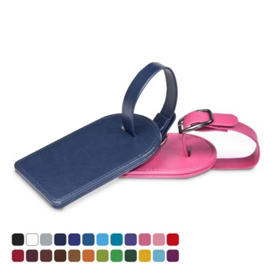 Picture of SMALL BAG TAG in Belluno PU Leather