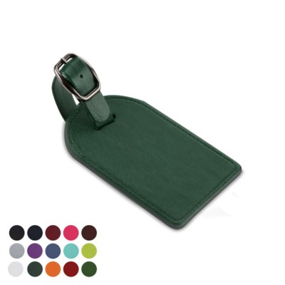Picture of LARGE BAG TAG in Belluno PU Leather