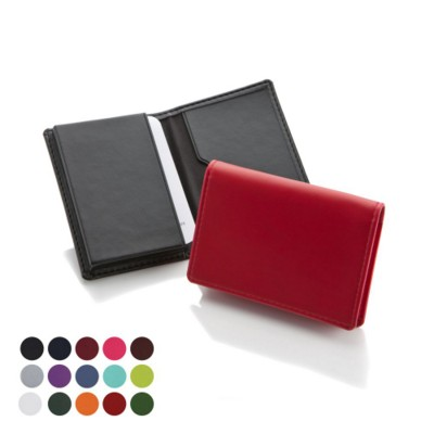 Picture of ECONOMY BUSINESS CARD DISPENSER in Belluno PU Leather