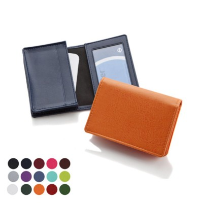 Picture of DELUXE BUSINESS CARD DISPENSER in Belluno PU Leather