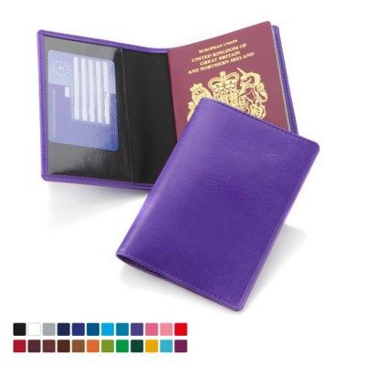 Picture of PASSPORT WALLET with Two Clear Transparent Pockets