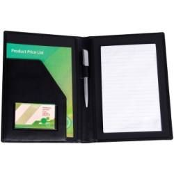Picture of E LEATHER A5 CONFERENCE FOLDER