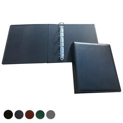 Picture of HAMPTON LEATHER A4 EXTRA WIDE RING BINDER