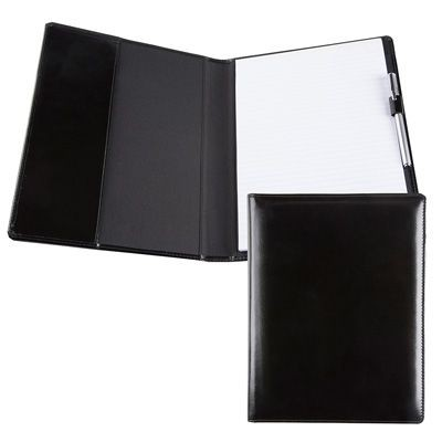 Picture of E LEATHER A4 CONFERENCE FOLDER