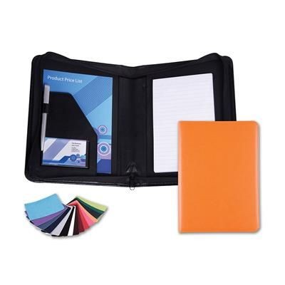 Picture of BELLUNO PU A5 ZIP CONFERENCE FOLDER