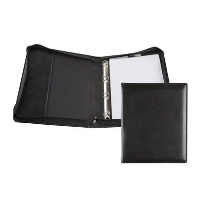 Picture of RECYCLED E LEATHER A4 RING BINDER