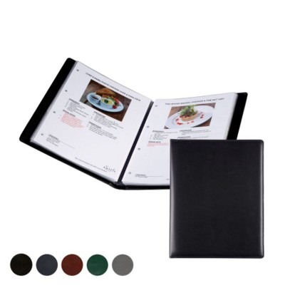 Picture of A4 WINE LIST OR MENU HOLDER in Hampton Finecell Leather