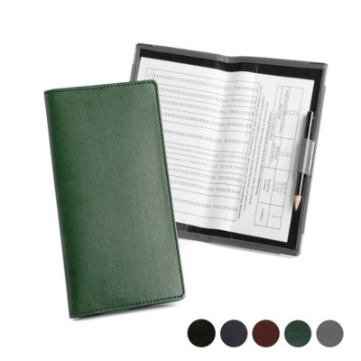 Picture of GOLF SCORECARD HOLDER with Handicap Card in Hampton Finecell Leather