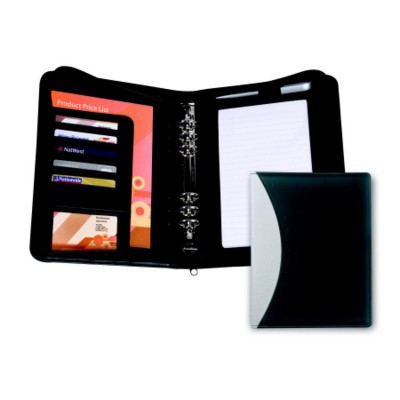 Picture of ECLIPSE PU ZIP A5 BINDER OR PERSONAL ORGANIZER