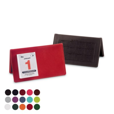 Picture of DESK TOP CALENDAR in Belluno PU Leather