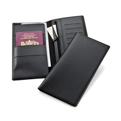 Picture of BELLUNO PU TRAVEL WALLET in Black