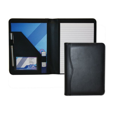 Picture of HOUGHTON PU BLACK A5 CONFERENCE FOLDER