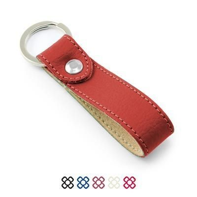 Picture of COMO RECYCLED LOOP KEYRING FOB