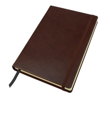Picture of A5 CASEBOUND NOTE BOOK in Richmond Nappa Leather