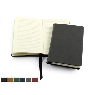 Picture of BIO-DEGRADABLE POCKET CASEBOUND NOTE BOOK with 100% Recycled Lined Paper