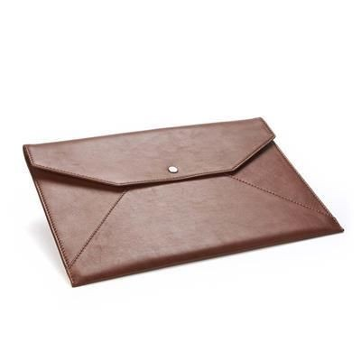 Picture of SANDRINGHAM LEATHER UNDER ARM PORTFOLIO & LAPTOP CASE with Press Stud to Close