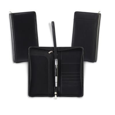 Picture of SANDRINGHAM NAPPA LEATHER ZIP TRAVEL WALLET