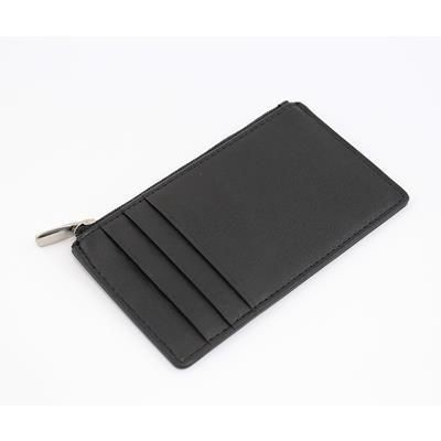 Picture of SANDRINGHAM NAPPA LEATHER RFID PROTECTED CARD WALLET with Side Zip