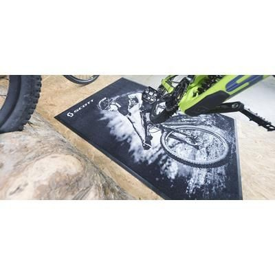 Picture of PRINTED LOGO VELOUR FLOOR MAT