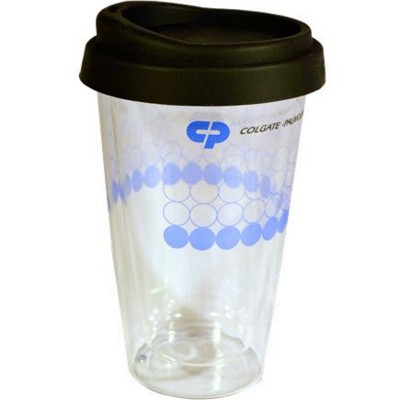 DOUBLE WALLED GLASS TAKE OUT MUG