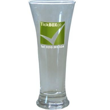 Picture of PILSNER TUMBLER GLASS in Clear Transparent