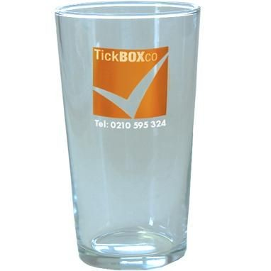 Picture of PINT BEER GLASS in Clear Transparent
