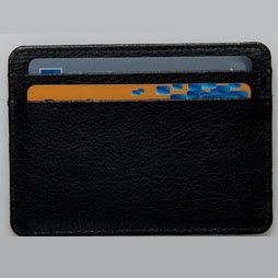 Picture of SLIM CARD HOLDER in Chelsea Leather