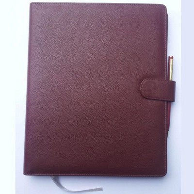 Picture of CHELSEA LEATHER DESK DARY OR NOTE BOOK WALLET with Magnetic Clasp