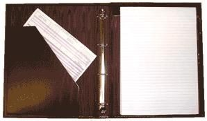 Picture of A4 RING BINDER FOLDER with Padded Cover
